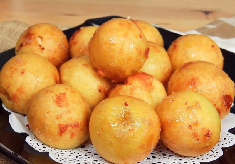 台南排隊美食「番薯椪」!一口咬下會爆漿的古早味小吃 (影音)
