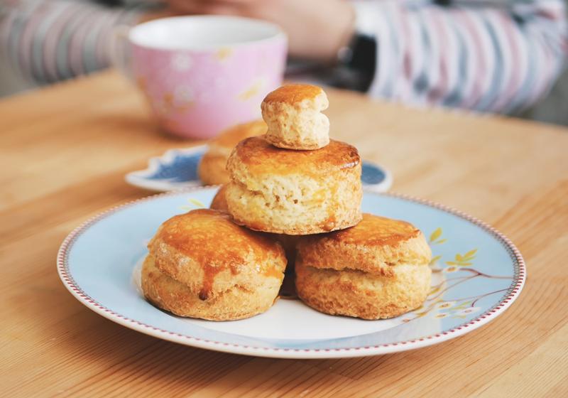 自製英國皇室下午茶Cream Tea:經典英式司康 (影音)