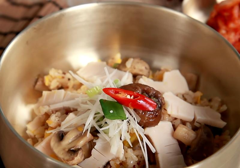 電鍋料理 | 元氣韓式鮑魚飯 (影音)