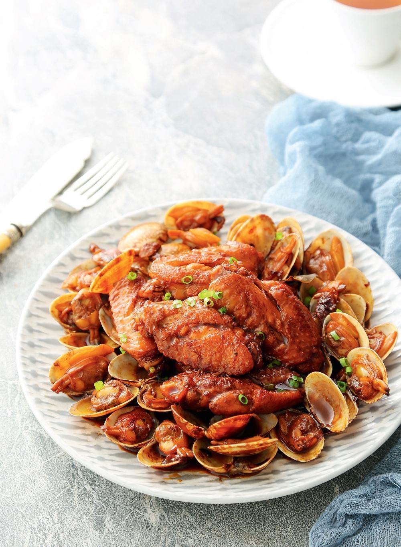 蛤蜊煮雞翅