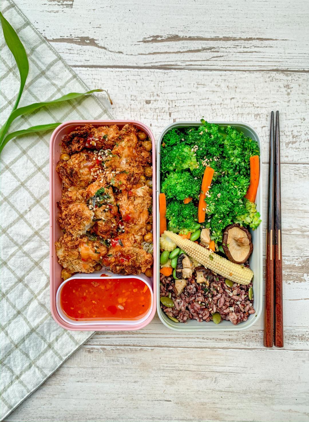 氣炸鍋料理|泰式咖哩偽炸雞