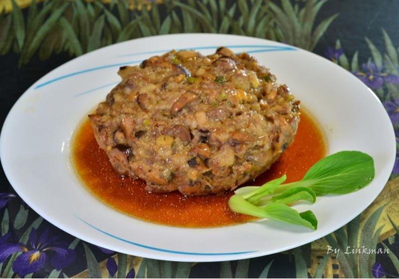 電鍋料理|香菇蒸肉