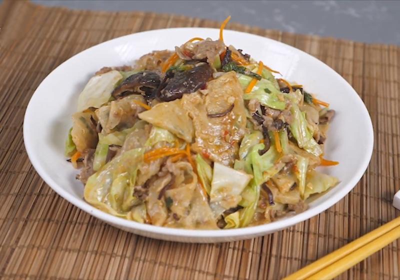 影音》蔥油餅吃不完這樣做!「木須炒餅」懷舊眷村菜