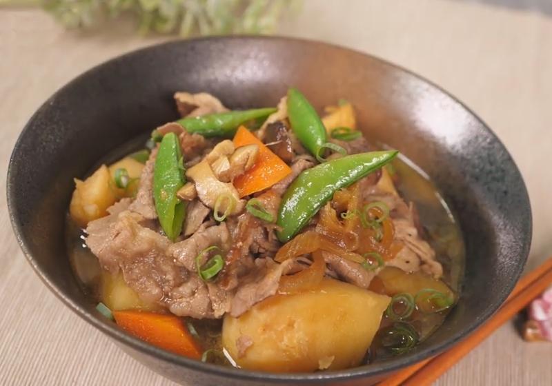 日式馬鈴薯燉肉 (影音)
