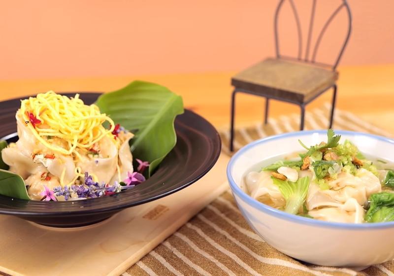 影音》餡料升級!創意「鮭魚餛飩」加碼教你泰式新吃法