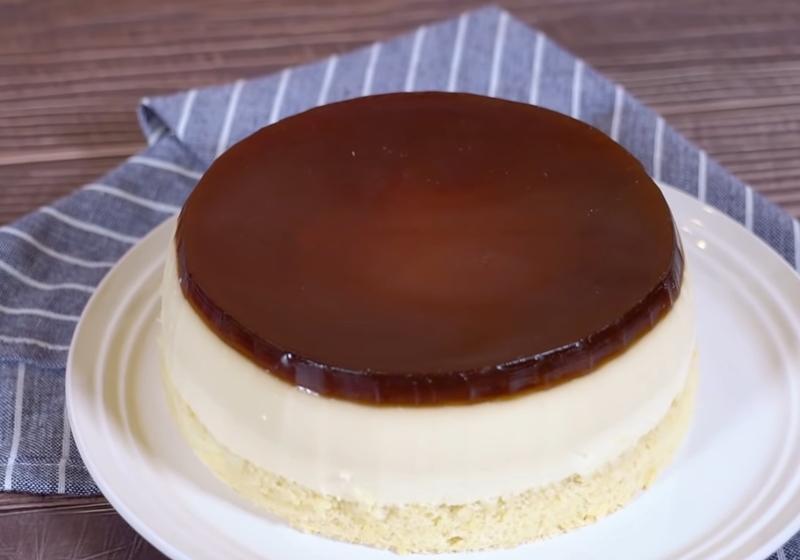 影音》古早味「水晶焦糖布丁蛋糕」三種口感一次滿足!