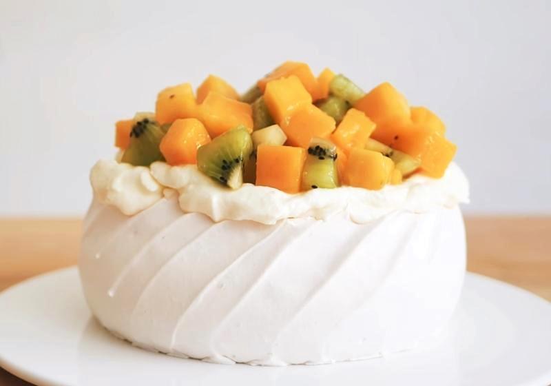 影音》無麩質蛋糕「水果帕芙洛娃」紐澳國民甜點夏季必學!