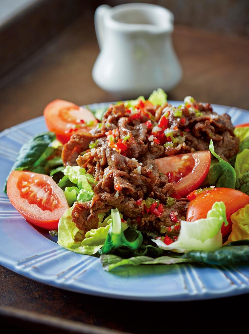 《保鮮盒快沙拉》泰式牛肉沙拉|清爽酸辣好開胃