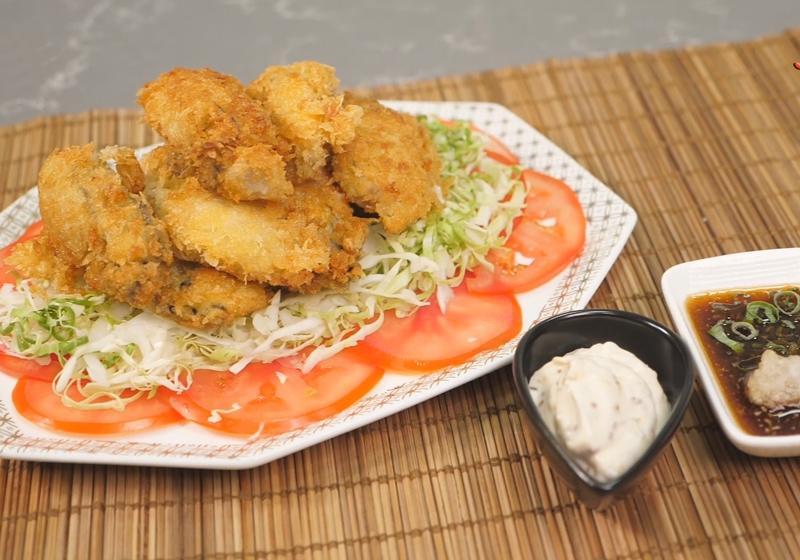 影音》酥脆多汁「日式炸牡蠣」法式、和風沾醬一次學