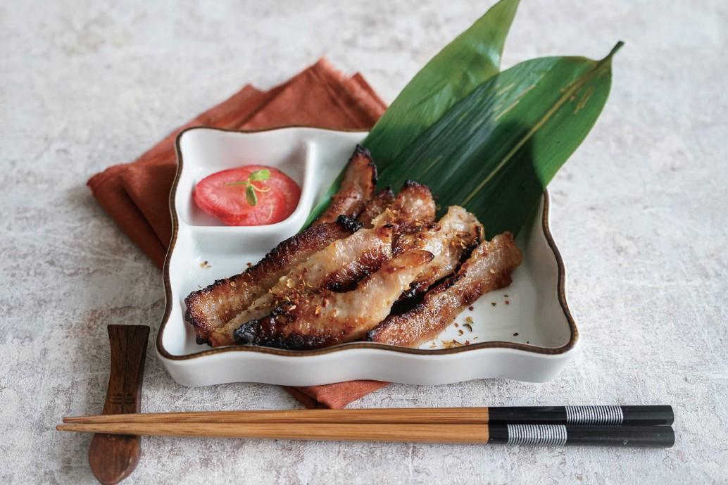 百搭常備主菜「鹽麴烤豬頸肉」晚餐&便當一起備料!