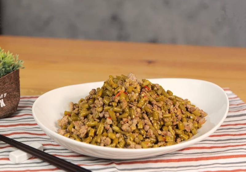 長豆吃不完?自製「醃酸豇豆」搭配肉末快炒超下飯!