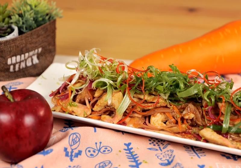 火龍果皮也能入菜!創意版「三色雞柳」食材讓你意想不到