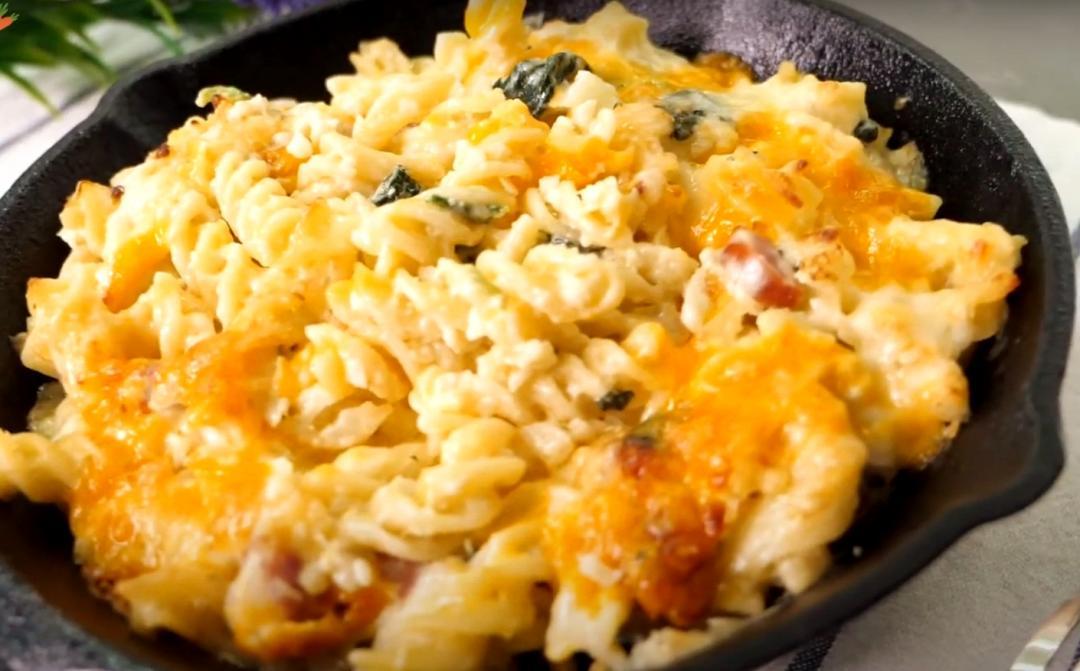 飽足又健康「焗烤通心麵佐花椰菜米」濃郁萬用奶醬麵糊學起來