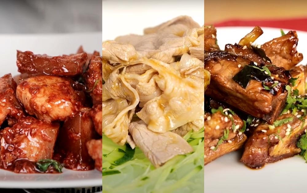 阿基師快手豬肉料理!「涼拌、蜜汁、紅滷」一次學會 3 道