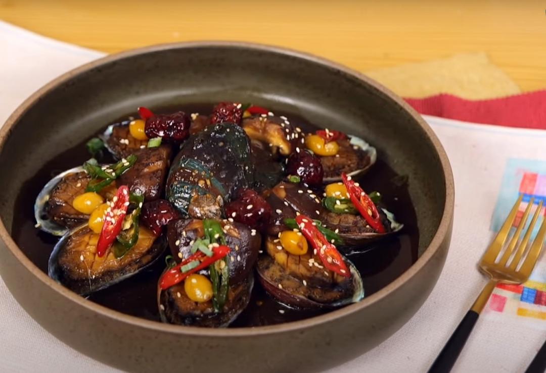 鮑魚清洗、處理一起學!「韓式醬燒鮑魚」肥美多汁在家做