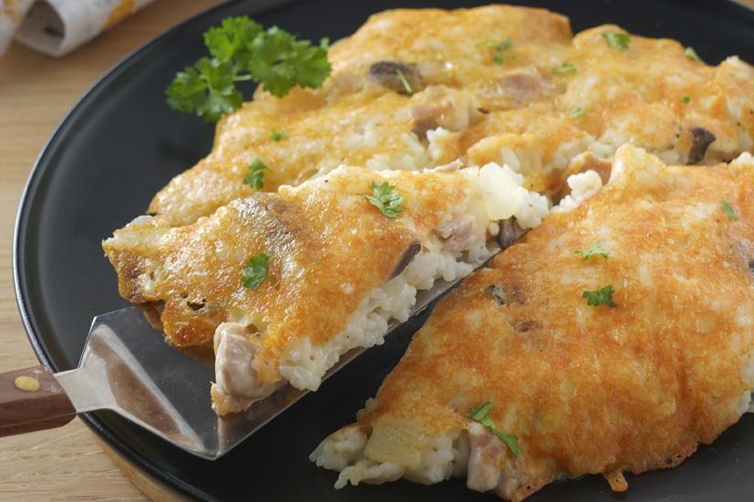 詹姆士一鍋到底「雞肉焗飯」!無烤箱也能做出金黃起司脆皮