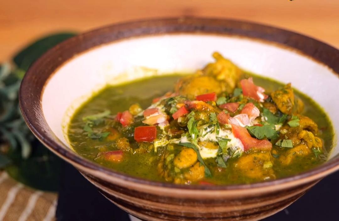 咖哩界小清新「印度菠菜咖哩雞」!化整為零讓孩子把討厭的蔬菜吃下肚