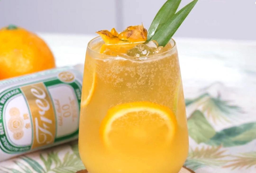 零酒精「柳橙啤酒綠茶」好喝不怕醉!結合夏日果香暢快乾一杯