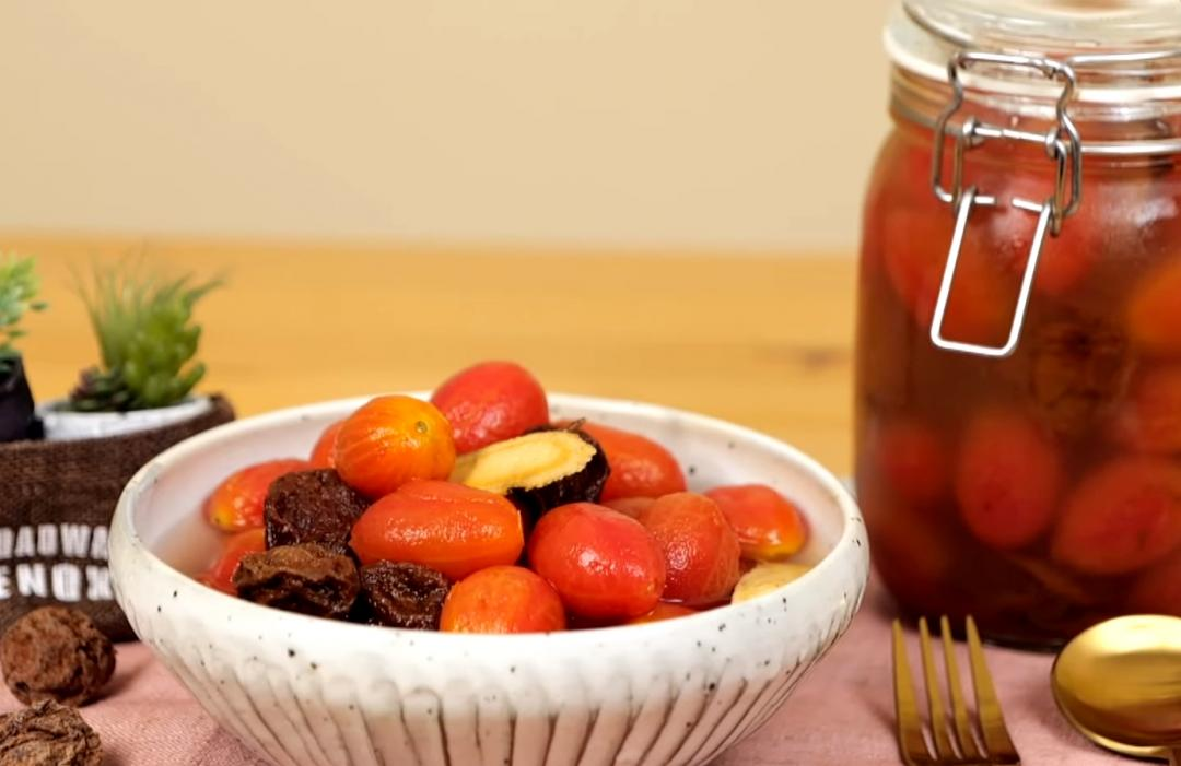 「冰釀梅汁小番茄」一招輕鬆去皮!少了這一步 風味口感都打折