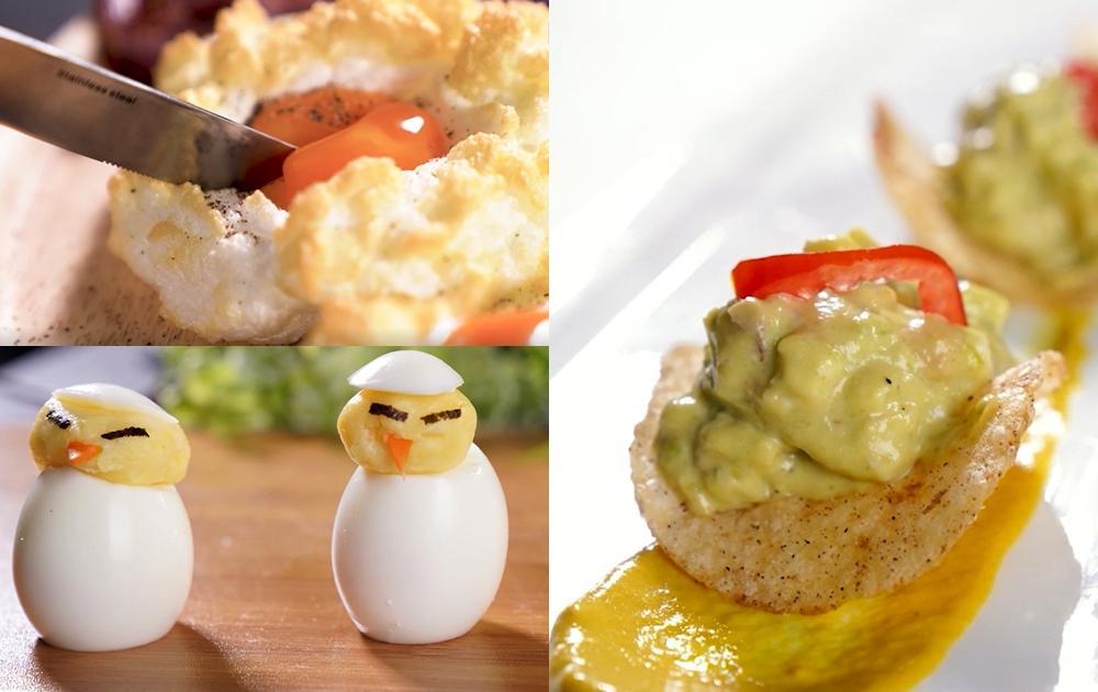一次三道美味蛋料理!雲朵蛋、造型小雞、酪梨雞蛋沙拉(影音)