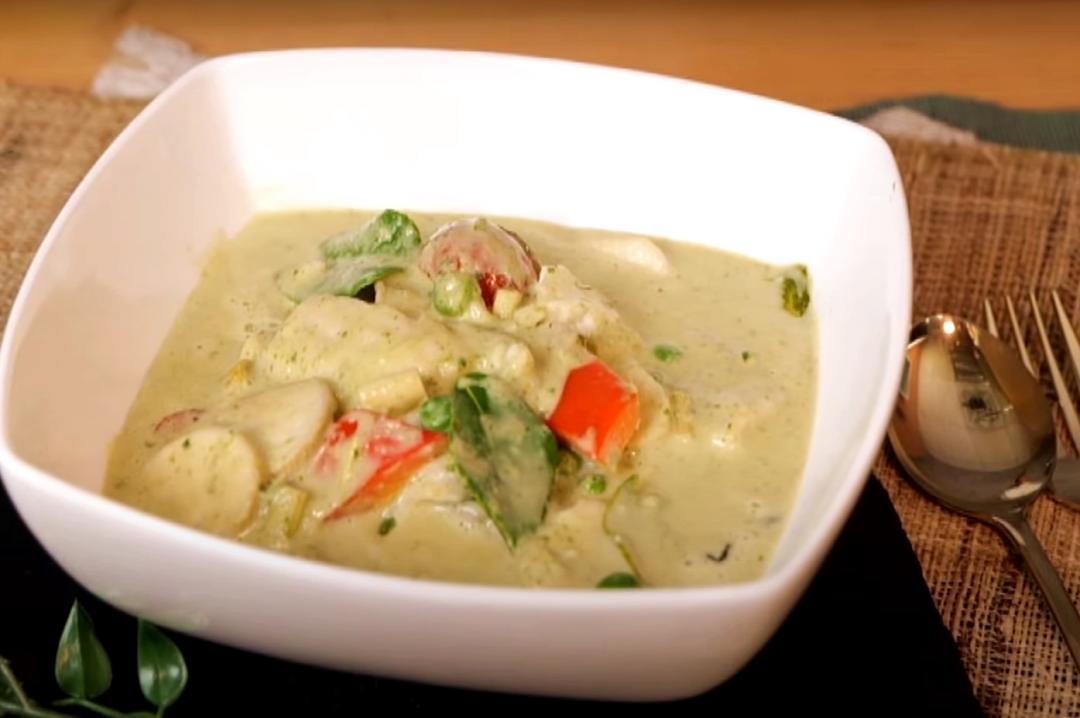 今天不吃雞!「泰式魚片綠咖哩」濃郁香辣泰下飯