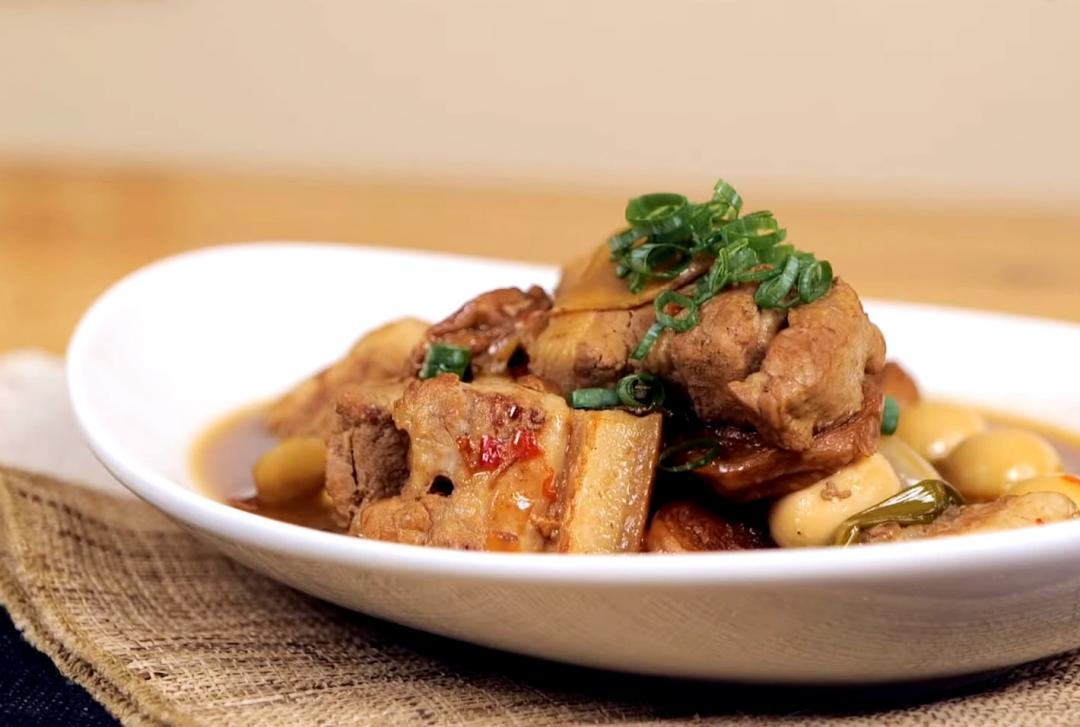 古早味爌肉滷三寶 | 紅燒肉、麵輪、鵪鶉蛋變身白飯殺手