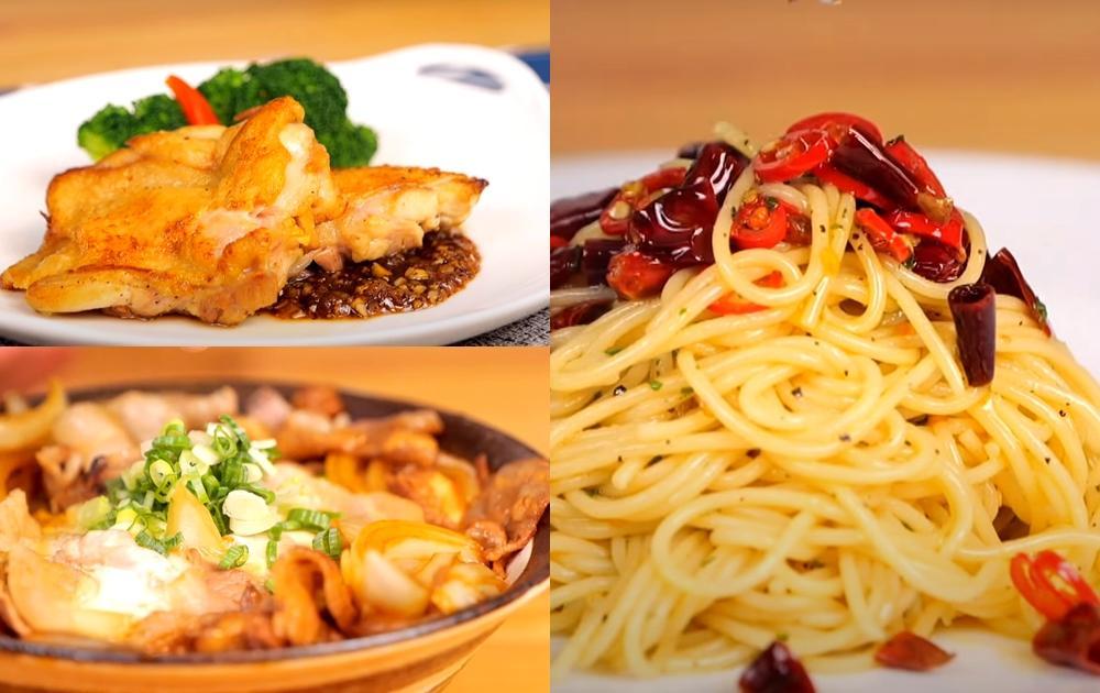 料理油怎麼挑?3 道主食示範:台式雞腿排、日式丼飯、蒜片辣椒義大利麵