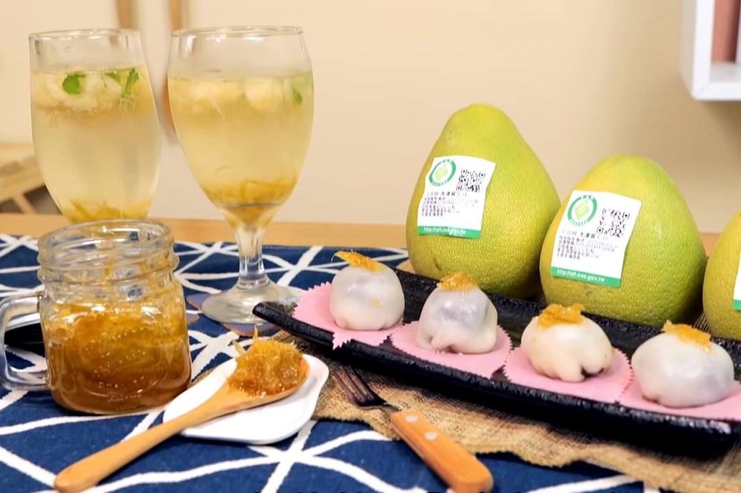 中秋節最應景「柚子三吃」! 冰心麻糬、蜜柚醬一定要學