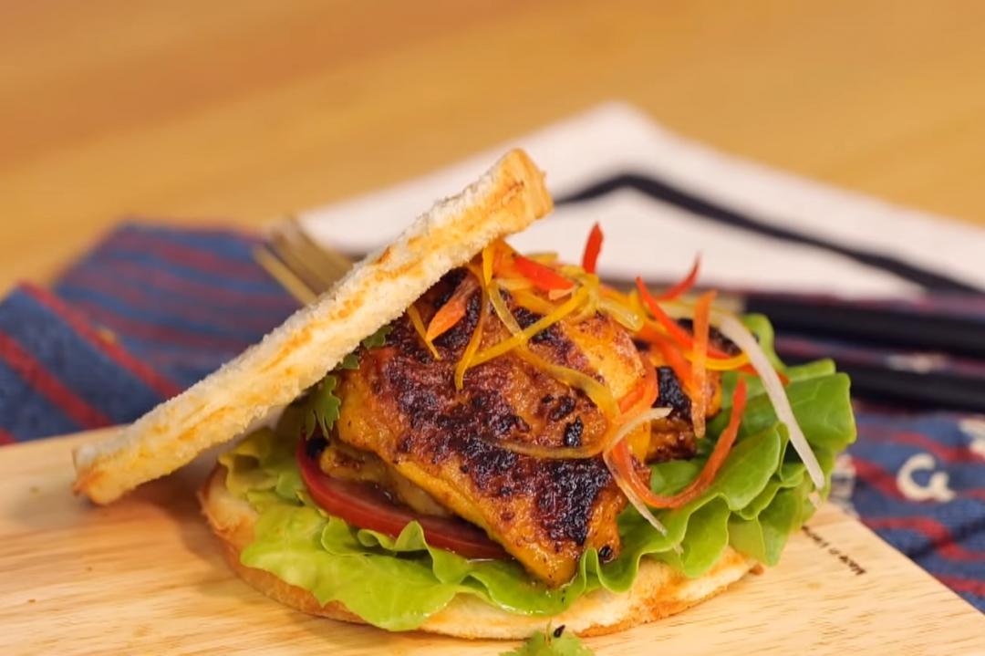 坦都里雞肉三明治 | 印度國宴料理變美味早午餐