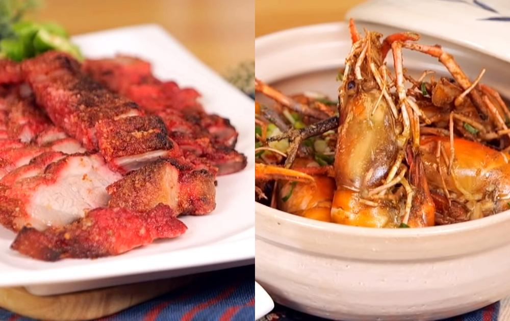 氣炸鍋15分鐘完成 2 道下酒菜!胡椒蝦&酥炸紅糟肉