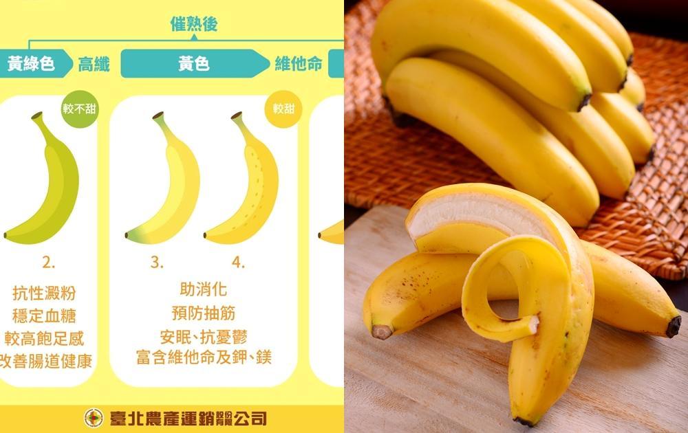 吃香蕉減肥「看顏色」是關鍵!放冰箱保存前先做一動作防變黑