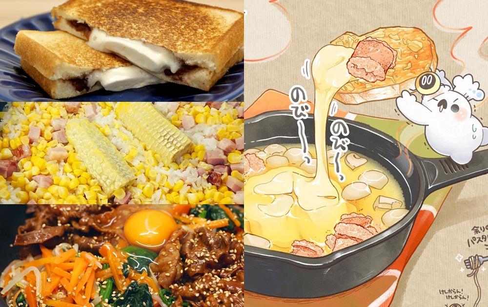 日本推特爆紅插畫食譜!跟著Boku小海豹學做 5 道療癒美食
