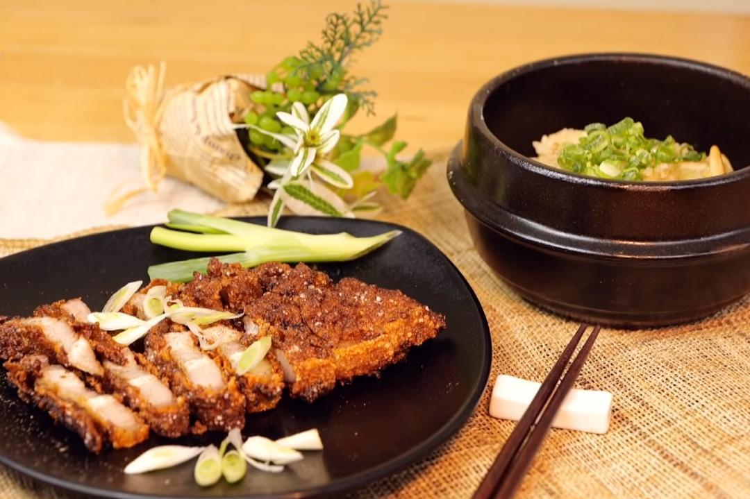 台式美食「酥炸燒肉+香菇鹹粥」絕配宵夜組合就決定是你了