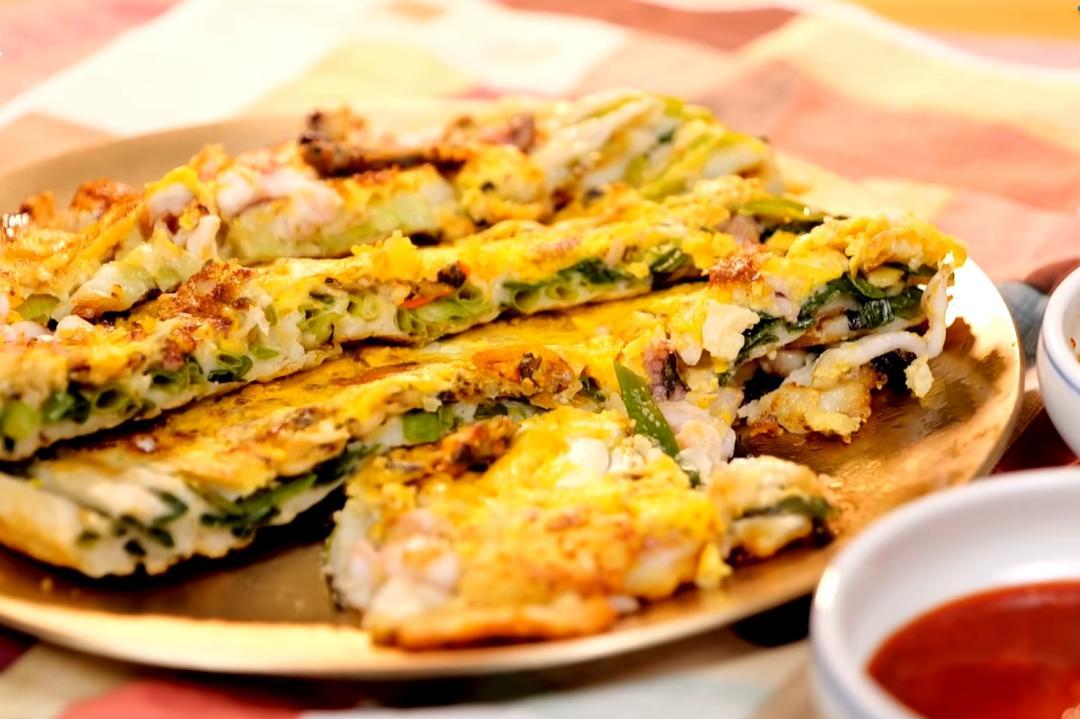 韓式煎餅還有這種吃法!「東萊蔥餅」完美還原釜山味