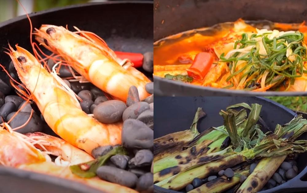 露營野炊3道必學料理!石頭蝦、原民風海鮮鍋超奢華吃一餐