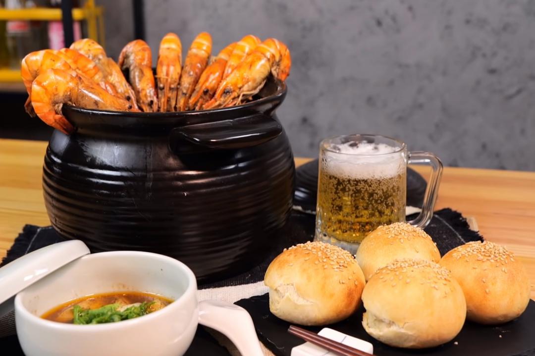 釣蝦場神級料理「胡椒蝦鍋」!加碼胡椒烤餅台式吃法必學