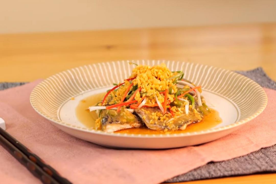 古醬蒸魚 | 鳳梨醬×蔭冬瓜超下飯  美味清蒸魚2.0版!