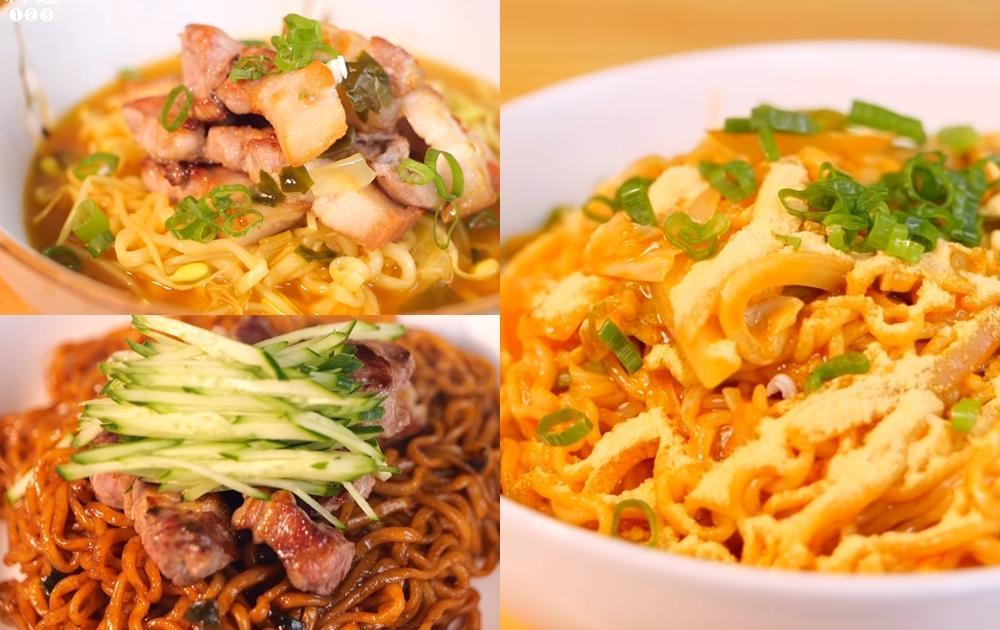 韓國人教你韓式泡麵3種吃法!拉麵、炸醬麵混搭秒變神級美食