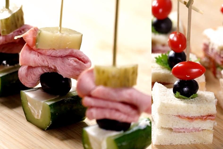 派對必備一口小點心!配料三劍客+基底抹醬輕鬆DIY