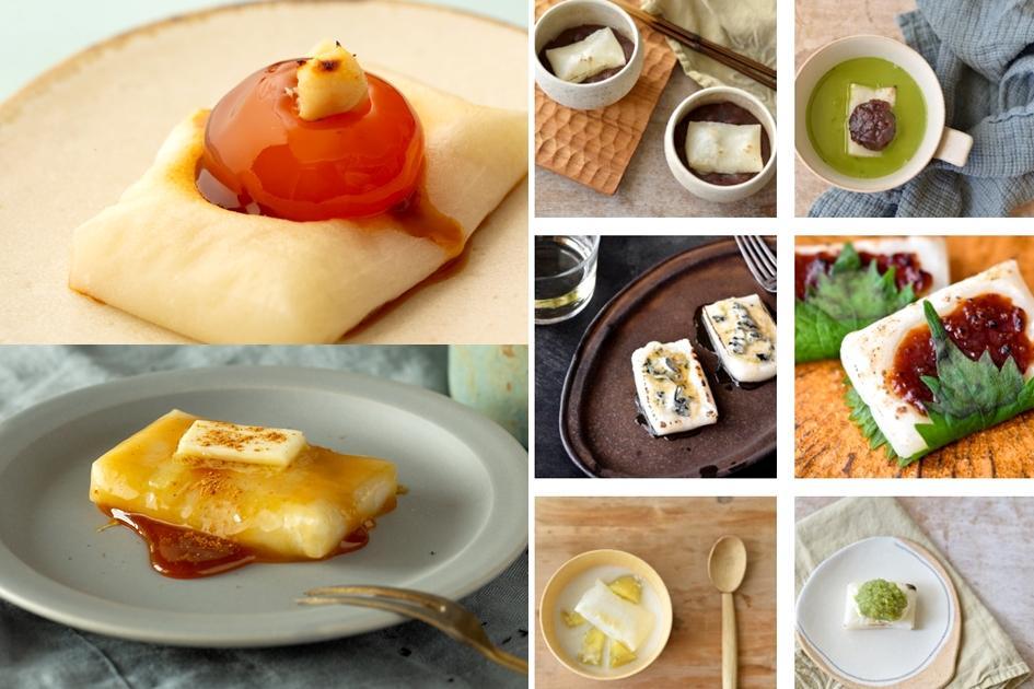 日本職人教你「麻糬究極吃法」!提拉米蘇、蜂蜜奶油烤麻糬吃不膩