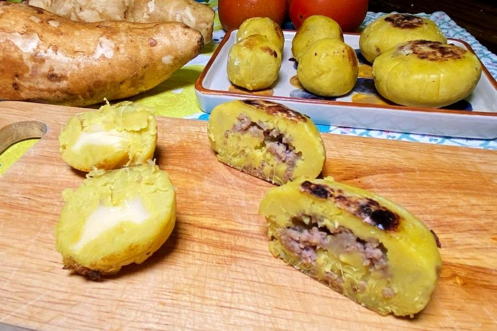「地瓜牛肉餅、爆漿起司球」預先做!過年宴客料理隨時端上桌