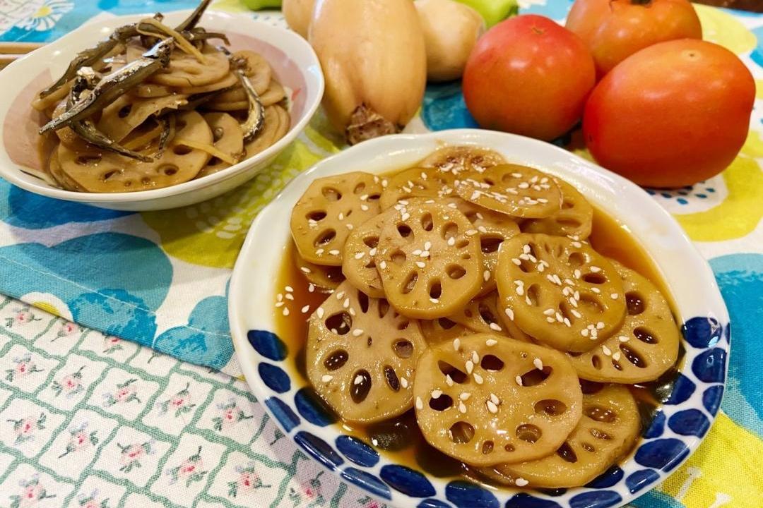 蓮藕大活用!「蜜汁、醬煮」兩道鹹甜小菜必學
