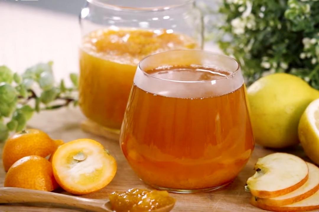 金桔果醬這樣做好簡單!泡一杯「金桔檸檬茶」開胃解膩