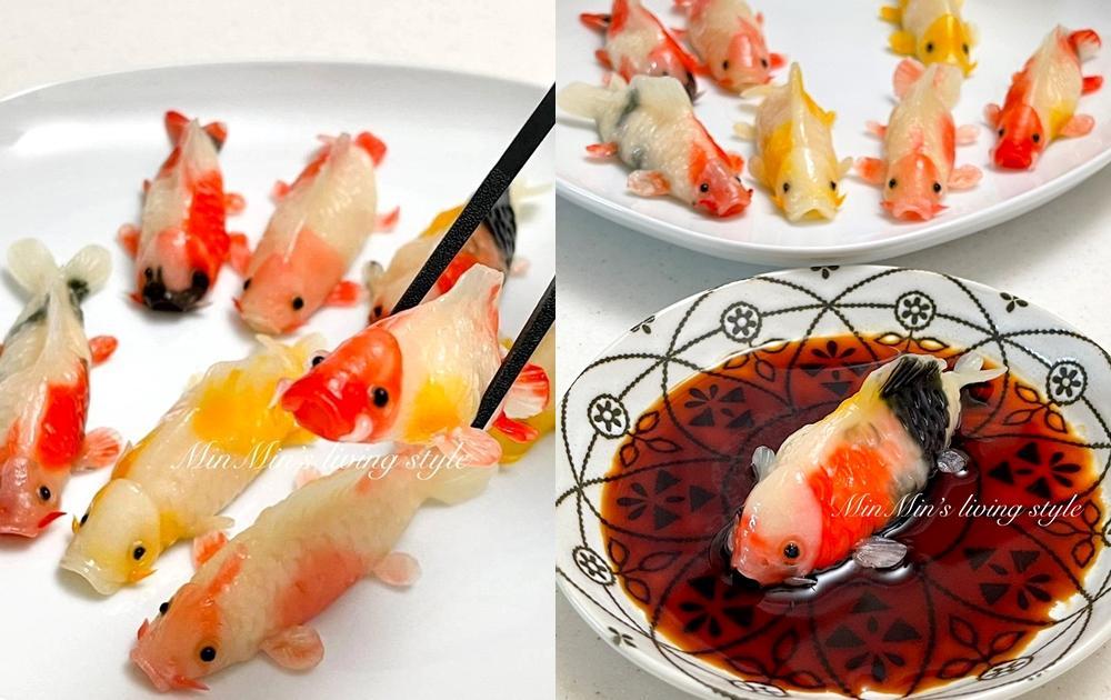 超擬真「錦鯉蝦餃」每隻花色不同!做法公開網驚嘆:藝術品級別