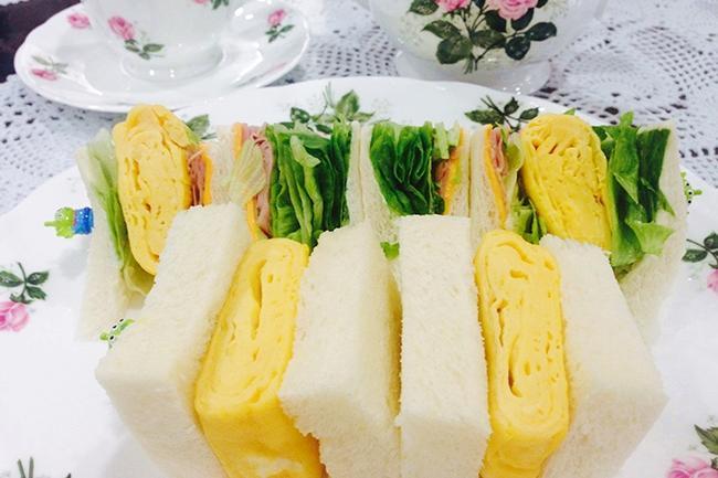日式玉子燒三明治DIY!厚切口感大滿足一吃會上癮