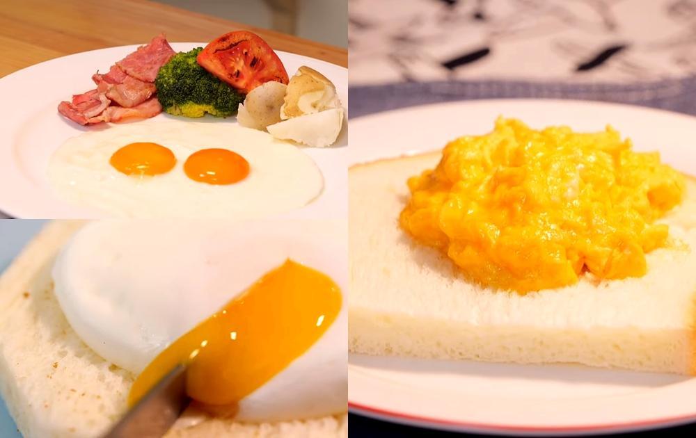 「早餐蛋」掌握完美熟度有訣竅!太陽蛋、炒滑蛋 4 種做法每天吃不膩