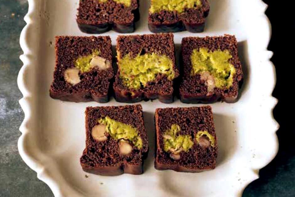 無蛋奶砂糖!「開心果可可磅蛋糕」無負擔蔬食甜點DIY