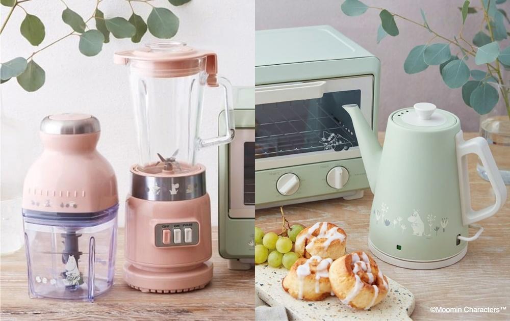 宅家夢幻小家電夯!日本麗克特推「嚕嚕米系列」讓廚房顏值大加分