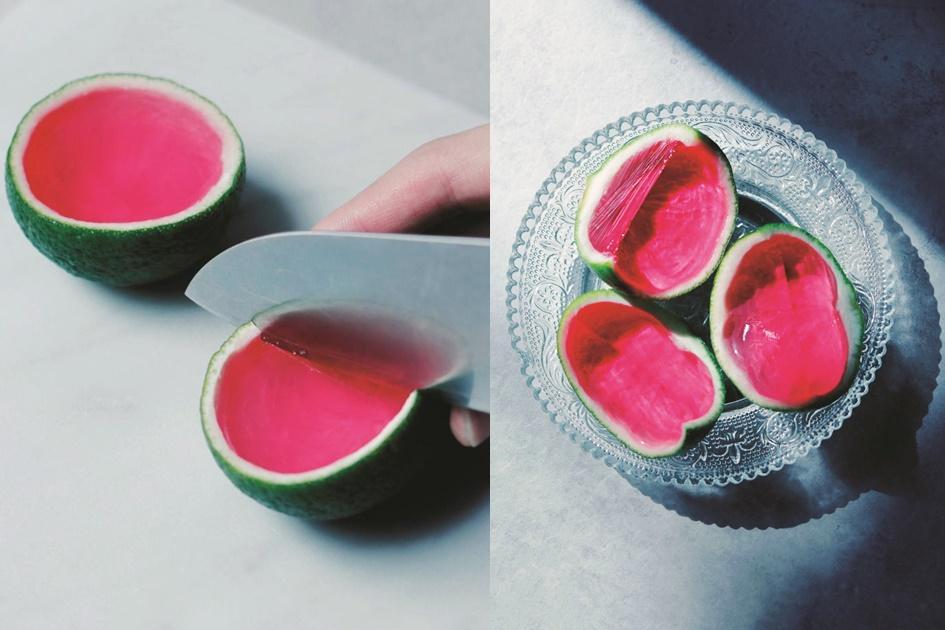 教你自製好吃又好看的「偽西瓜果凍」!親子一起動手DIY