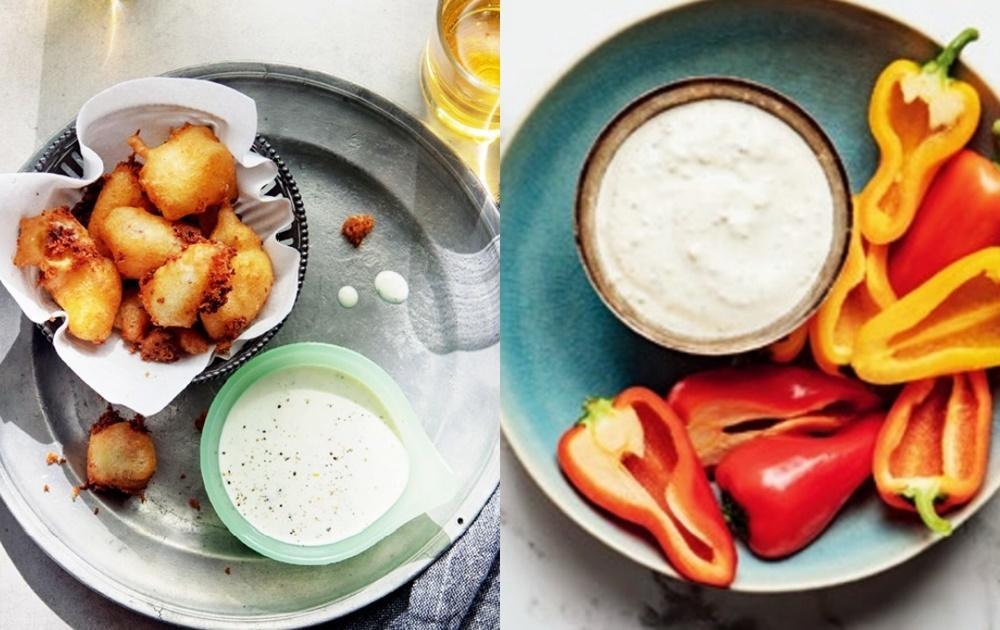 蔬果、炸物都能搭!2 款優格酸奶沾醬  冷藏保存超萬用